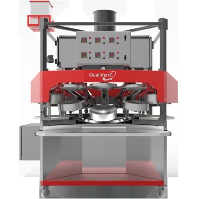 Automatic Khakhra Roasting Machine 90